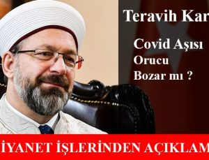 Diyanet İşleri Başkanı Ali Erbaş'tan Açıklamalar