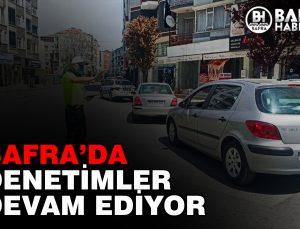 BAFRA POLİSİ DENETİMLERE DEVAM EDİYOR