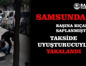 SAMSUN'DA AYNI KİŞİ UYUŞTURUCUYLA YAKALANDI