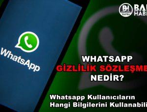 whatsapp gi̇zli̇li̇k sözleşmesi̇ nedi̇r?