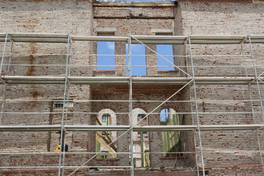 bafra çarşı camii ve efrahim ağa konağı restorasyonuna ziyaret 6