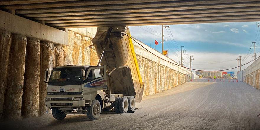 bafra'da damberi̇ açik kamyon felaketten döndü 2