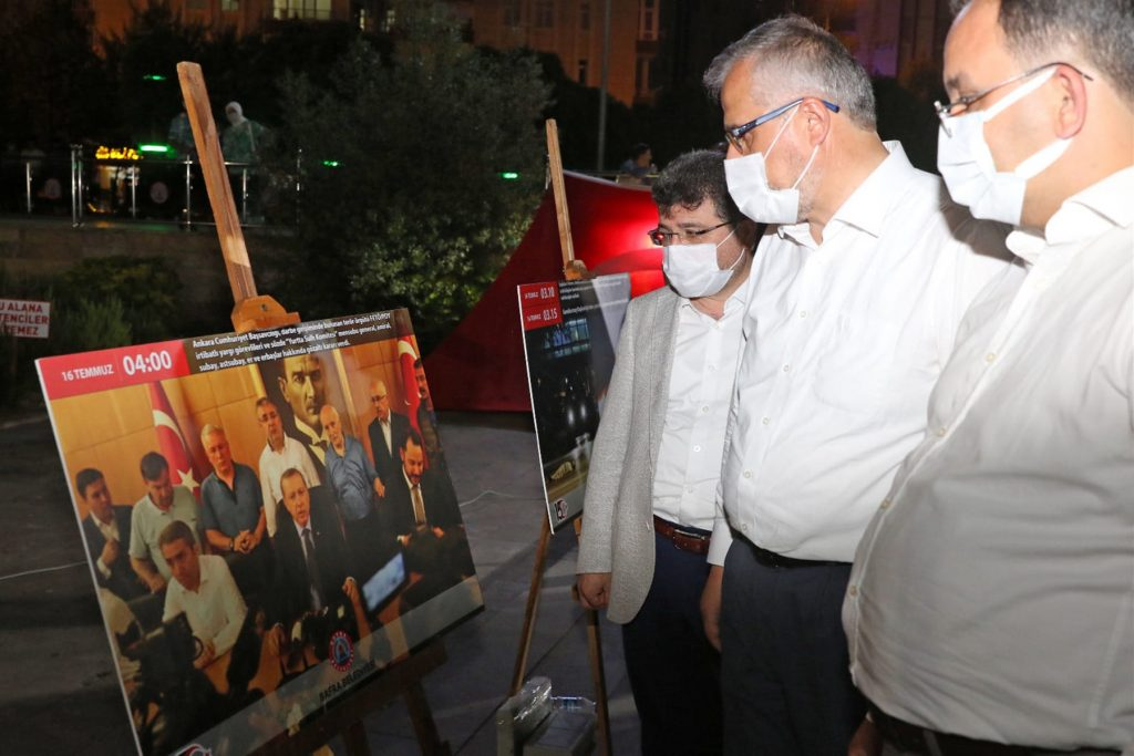 bafra'da 15 temmuz demokrasi ve birlik günü