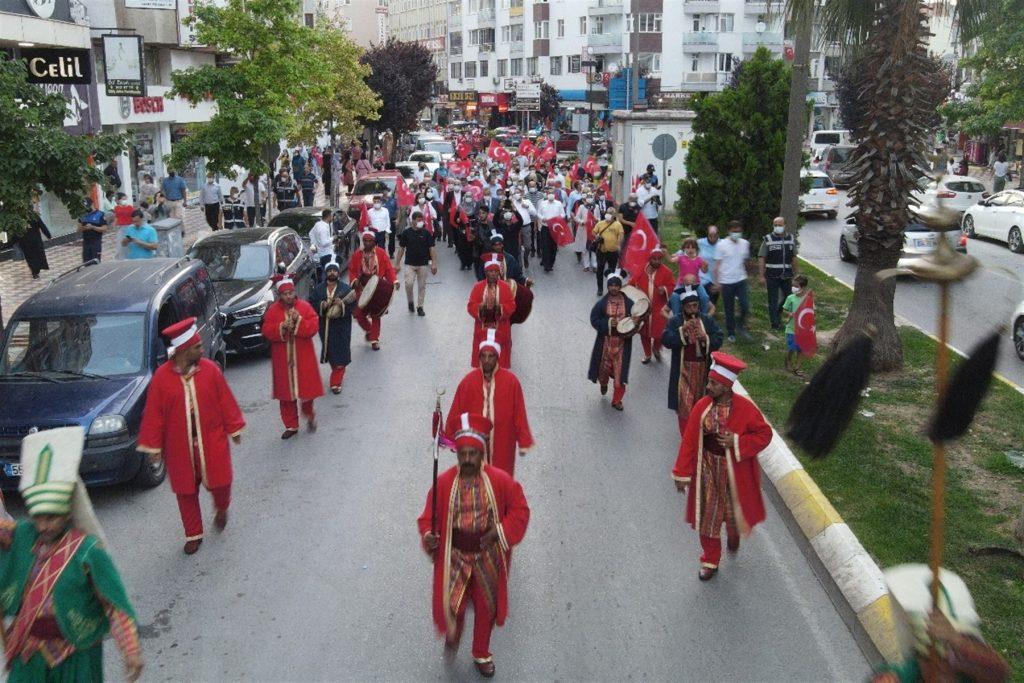 bafra'da 15 temmuz demokrasi ve birlik günü 11