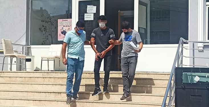 bafra'da motosiklet hırsızlığı