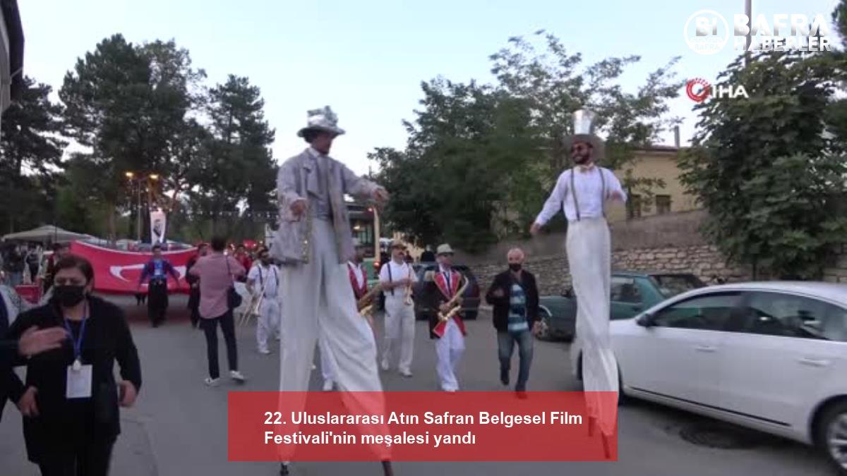 22. uluslararası atın safran belgesel film festivali'nin meşalesi yandı 8