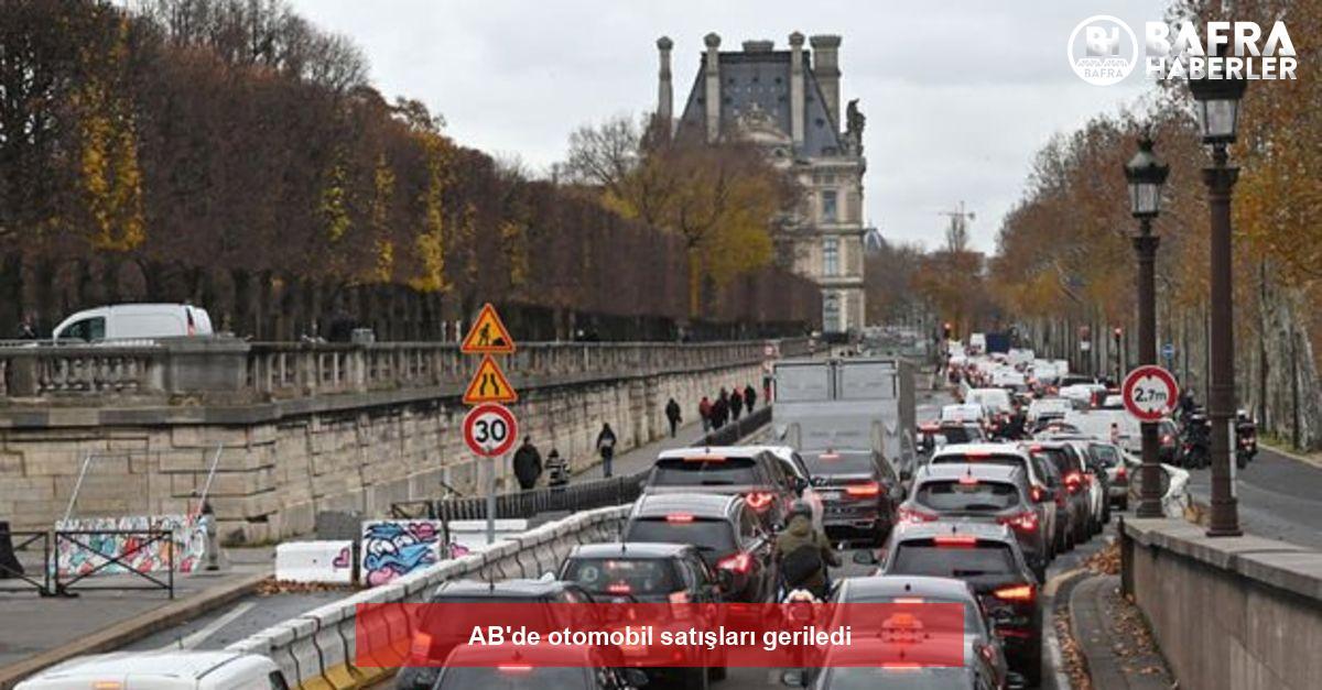 ab'de otomobil satışları geriledi 2