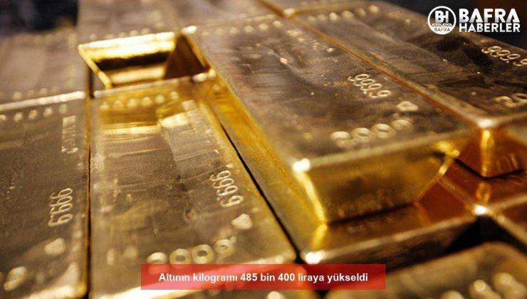 altının kilogramı 485 bin 400 liraya yükseldi
