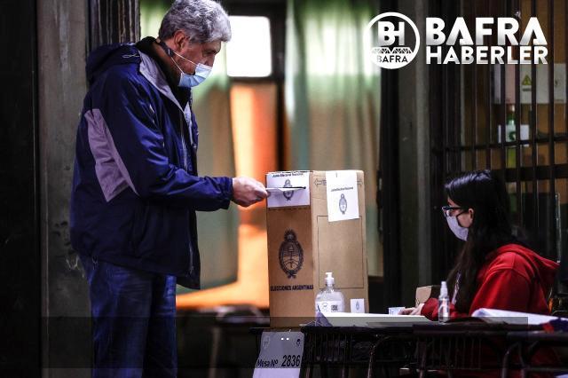 arjantin'de halk, ön seçimler için sandık başında 9