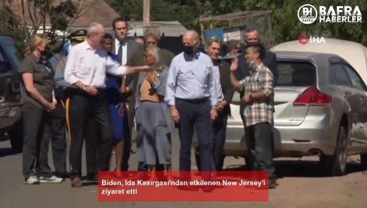 biden, ida kasırgası'ndan etkilenen new jersey'i ziyaret etti