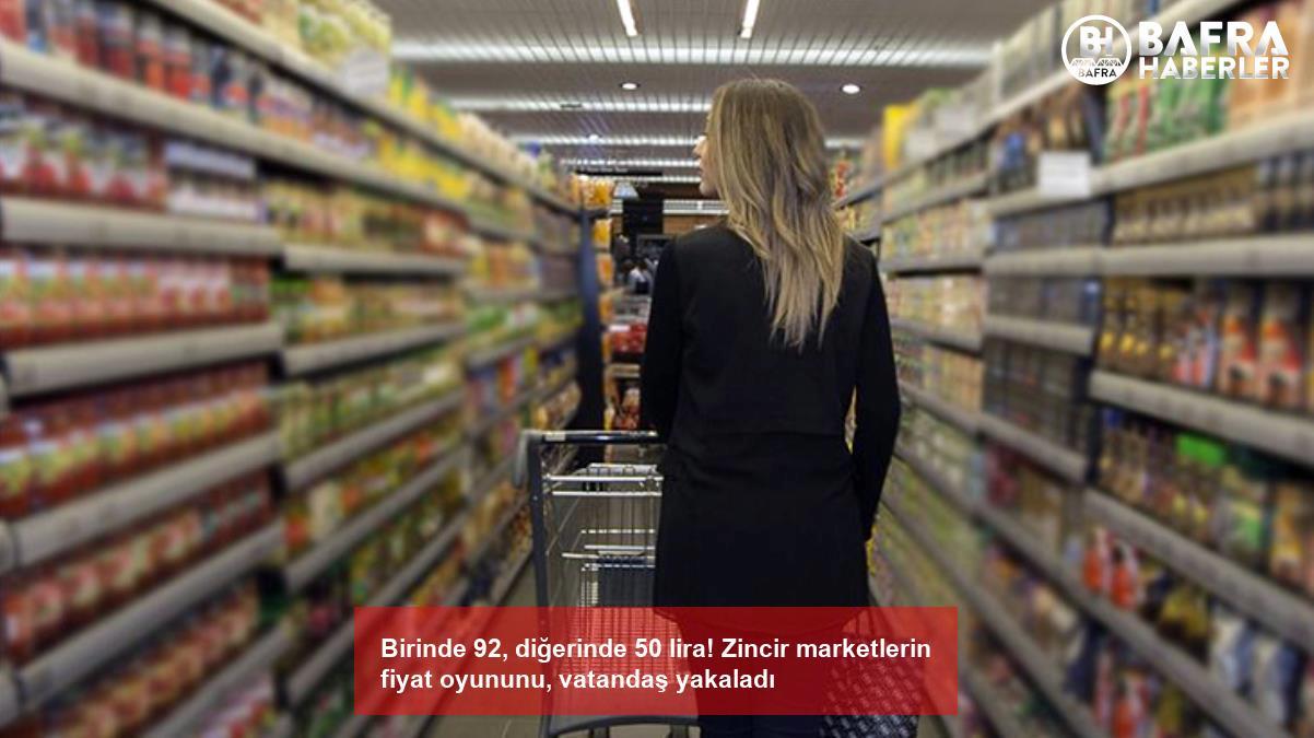 birinde 92, diğerinde 50 lira! zincir marketlerin fiyat oyununu, vatandaş yakaladı 8