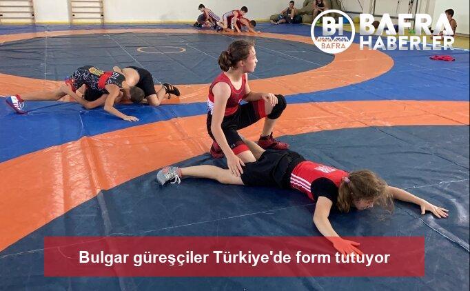 bulgar güreşçiler türkiye'de form tutuyor 2