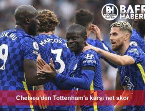 Chelsea'den Tottenham'a karşı net skor