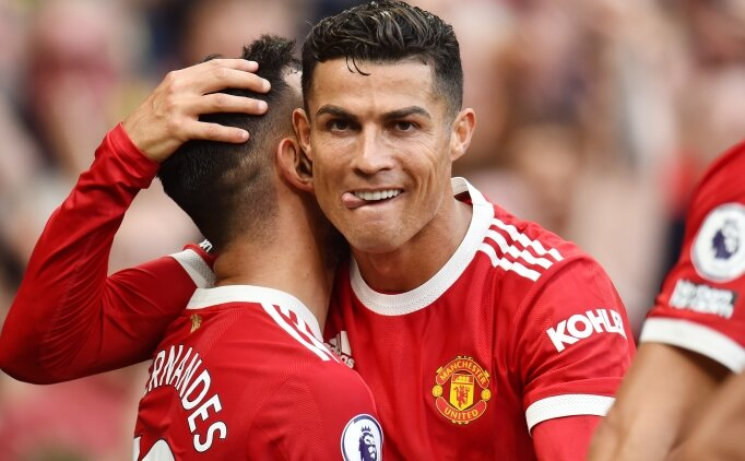 cristiano ronaldo, manchester united'a gollerle döndü 3