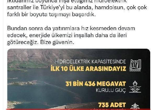 cumhurbaşkanı erdoğan: enerjide ülkemizi daha da ileri götüreceğiz