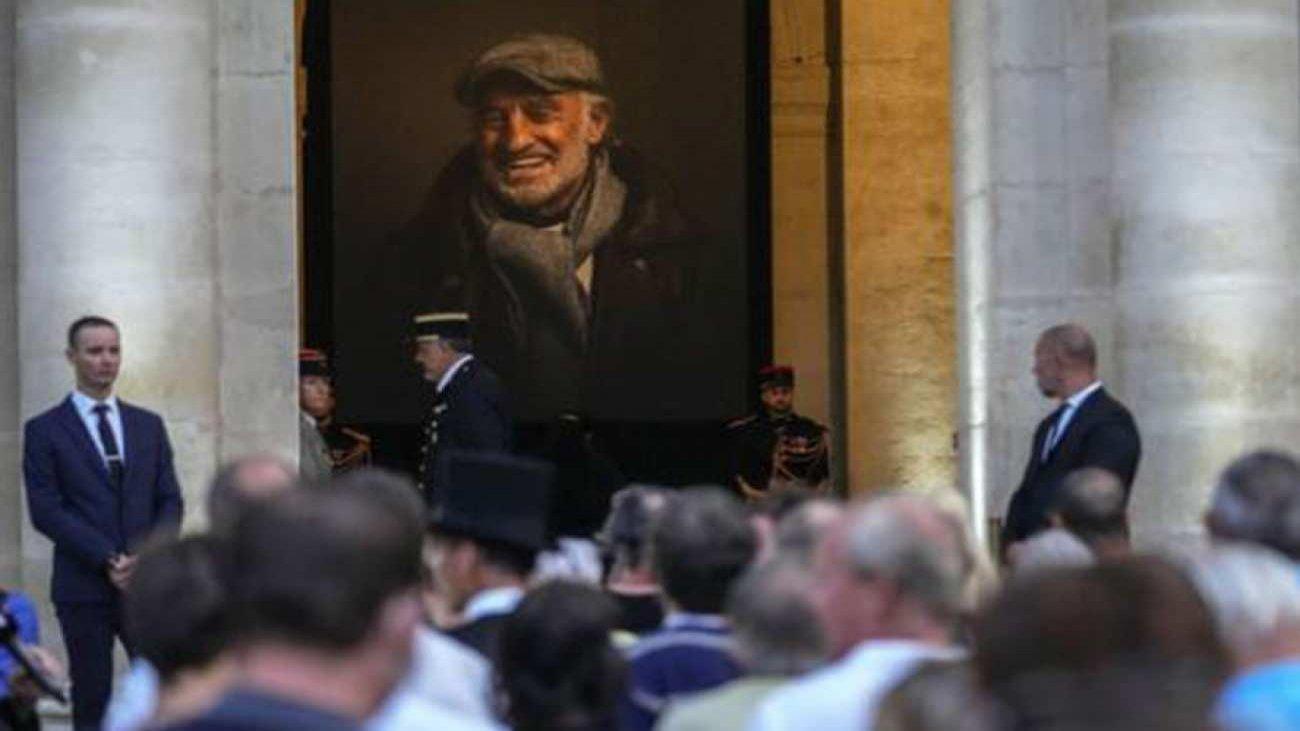 efsane aktör jean-paul belmondo'ya fransa'da veda edildi 7