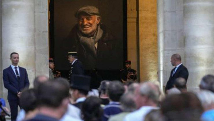 efsane aktör jean-paul belmondo'ya fransa'da veda edildi