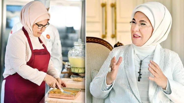emine erdoğan türk mutfağı kitabını ve aile mutfağını anlattı! 10