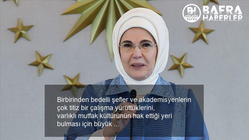 emine erdoğan türk mutfağı kitabını ve aile mutfağını anlattı! 11