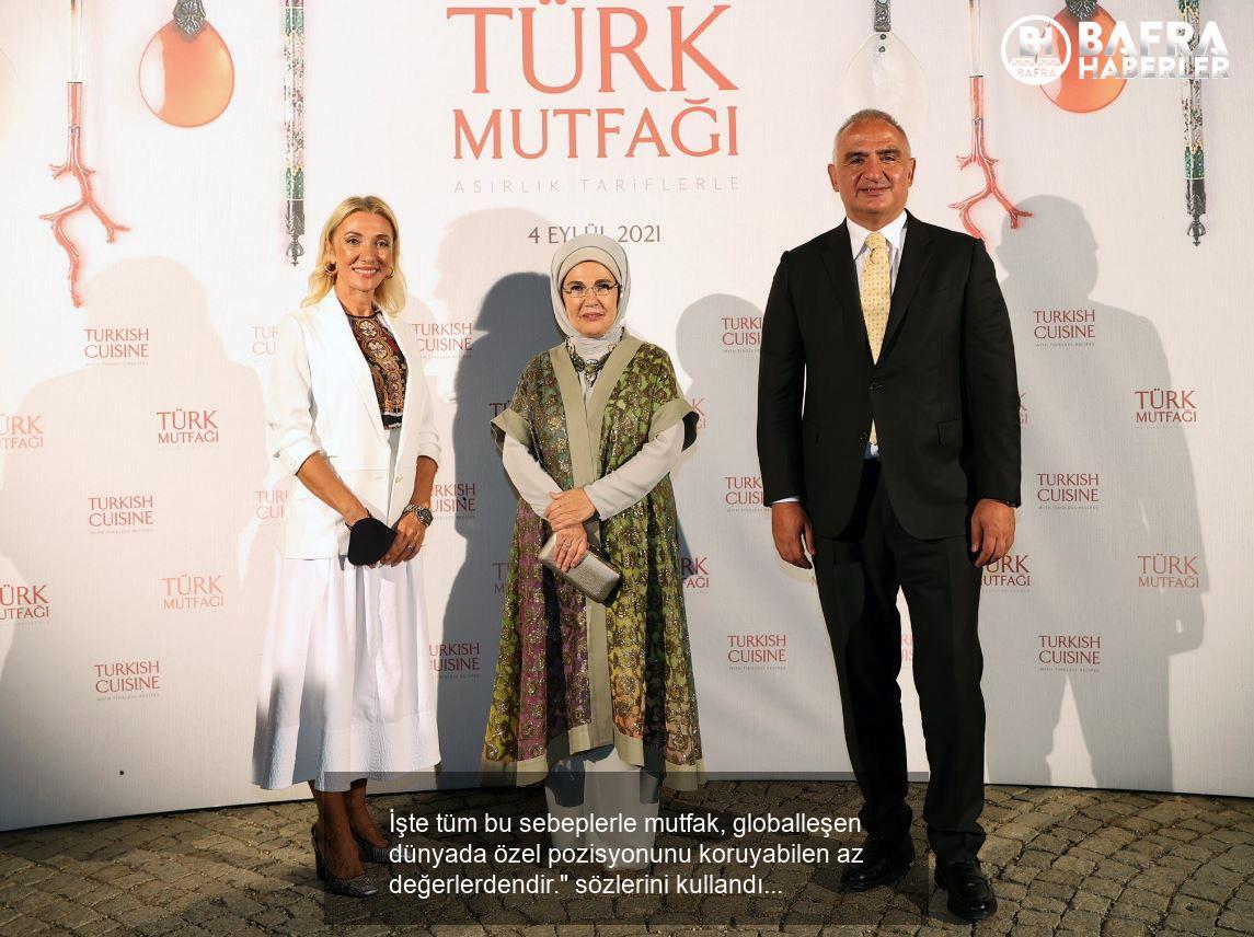 emine erdoğan türk mutfağı kitabını ve aile mutfağını anlattı! 13