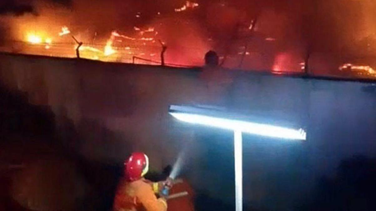 endonezya'da hapishanede yangın çıktı! 41 mahkum yanarak can verdi 3