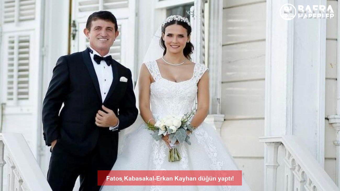 fatoş kabasakal-erkan kayhan düğün yaptı! 5