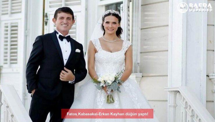 fatoş kabasakal-erkan kayhan düğün yaptı!