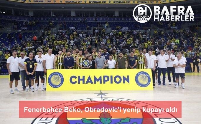 fenerbahçe beko, obradovic'i yenip kupayı aldı 2