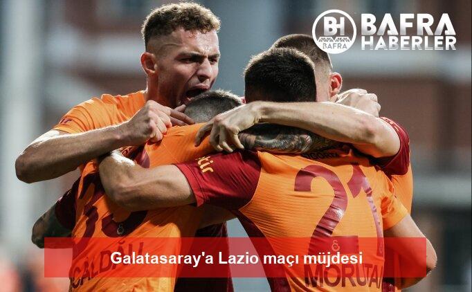 galatasaray'a lazio maçı müjdesi 2