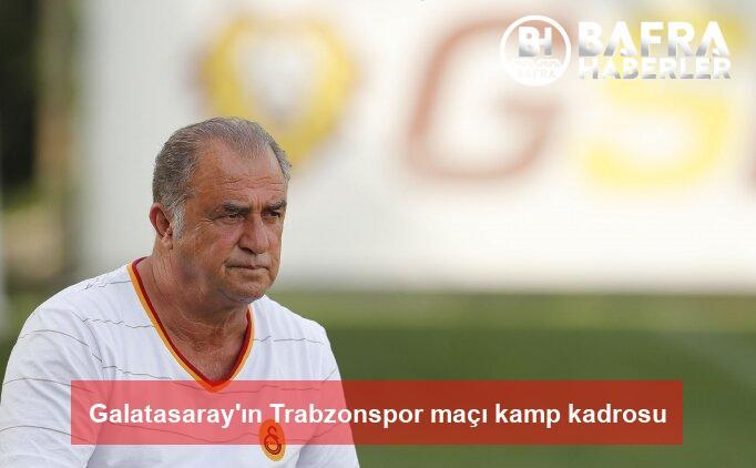 galatasaray'ın trabzonspor maçı kamp kadrosu 4