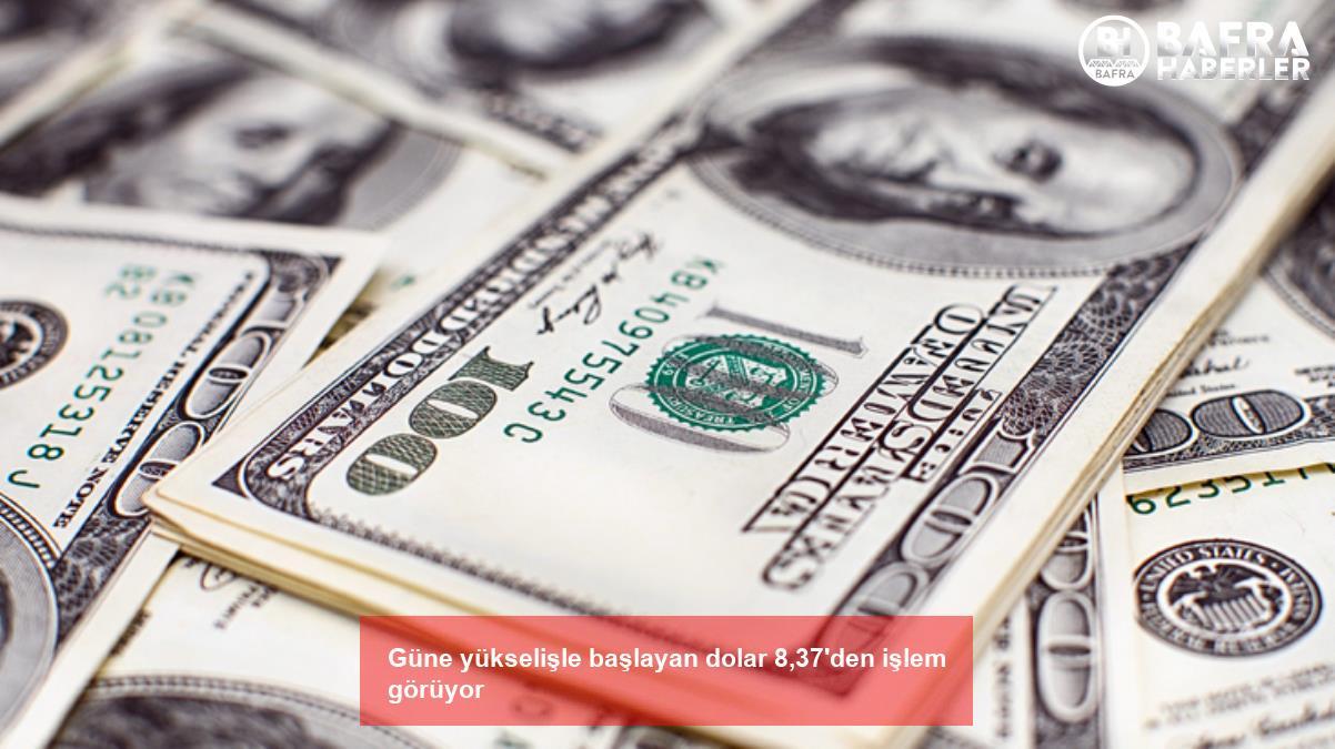 güne yükselişle başlayan dolar 8,37'den işlem görüyor 3
