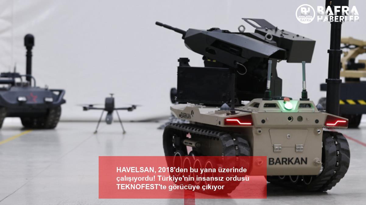 havelsan, 2018'den bu yana üzerinde çalışıyordu! türkiye'nin insansız ordusu teknofest'te görücüye çıkıyor 8