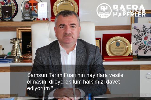 havza belediye başkanı özdemir'den tarım fuarı'na davet 4