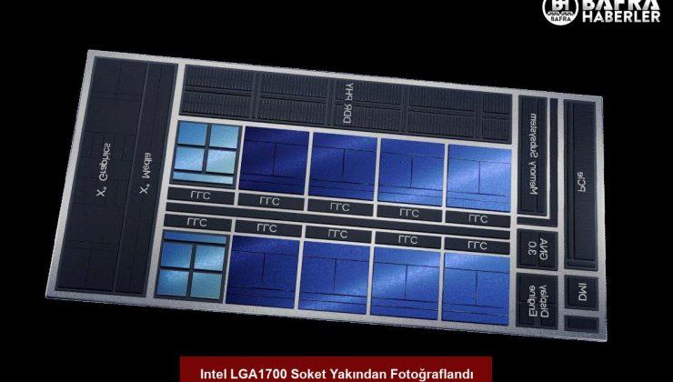 intel lga1700 soket yakından fotoğraflandı
