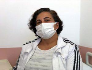 i̇şitme kaybı yaşayan hemşirenin kulağındaki tümör ameliyatla alındı