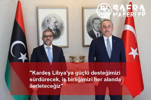 """""""kardeş libya'ya güçlü desteğimizi sürdürecek, iş birliğimizi her alanda ilerleteceğiz"""" 3"""