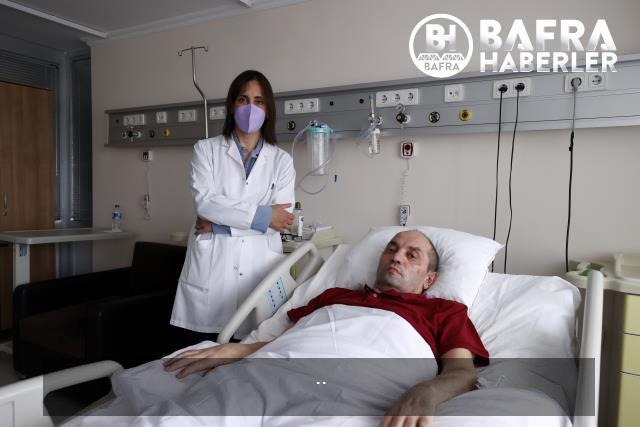 kovid-19 nedeniyle 110 gün yoğun bakımda kalan hasta, yaşadıklarını gözyaşları içinde anlattı 8