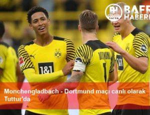 Monchengladbach – Dortmund maçı canlı olarak Tuttur'da