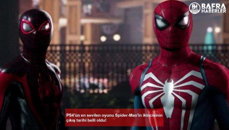 ps4'ün en sevilen oyunu spider-man'in ikincisinin çıkış tarihi belli oldu!