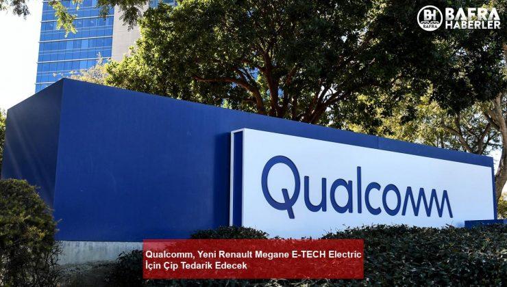qualcomm, yeni renault megane e-tech electric i̇çin çip tedarik edecek