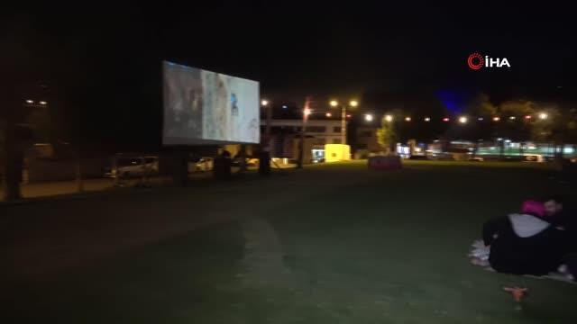 safranbolu'da 'açık hava sinema geceleri' başladı 7