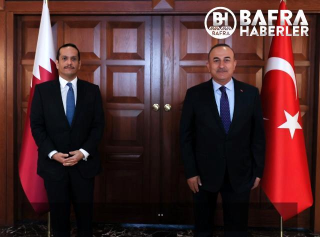 son dakika haber: bakan çavuşoğlu, katarlı mevkidaşı al thani ile görüştü 6