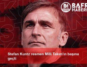 stefan kuntz resmen milli takım'ın başına geçti