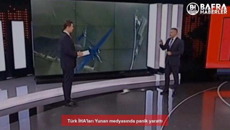 türk i̇ha'ları yunan medyasında panik yarattı