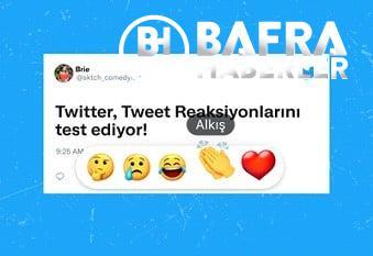 twitter, tweetlere emojilerle tepki verme özelliği reactions'u i̇lk olarak türkiye'de test edecek