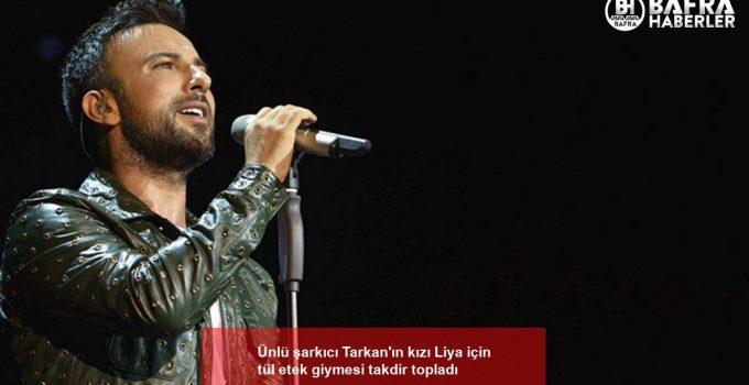 Ünlü şarkıcı Tarkan'ın kızı Liya için tül etek giymesi takdir topladı
