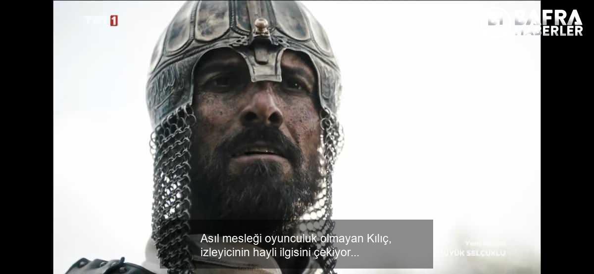 uyanış büyük selçuklu'da sultan alparslan'ı canlandıran serdar kılıç kimdir? 7