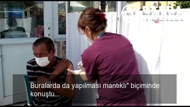 vatandaşlar önce aşı oldu sonra alışveriş yaptı 7