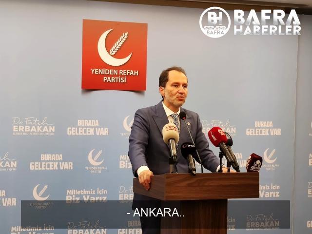 """yeniden refah partisi genel başkanı erbakan: """"seçim barajı sıfıra kadar indirilmeli"""" 4"""