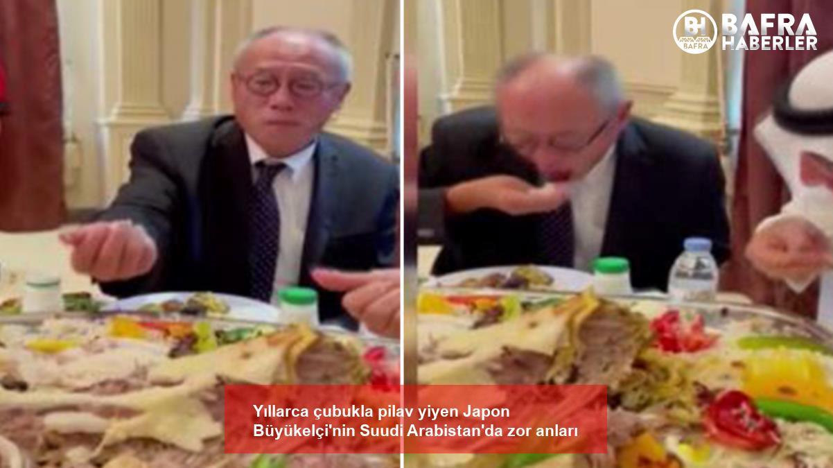 yıllarca çubukla pilav yiyen japon büyükelçi'nin suudi arabistan'da zor anları 3